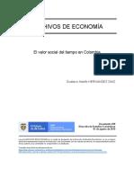 El valor social del tiempo en Colombia.pdf