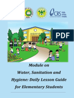 Module on WASH - DLL Guide for Elementary Students