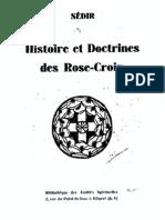 Histoire Et Doctrine Des Rose-Croix (Sédir)