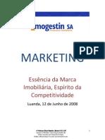 Documentação MARKETING e BRANDING no IMOBILIÁRIO Imogestin 08