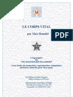 Heindel Max - Corps Vital