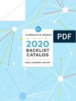 Chronicle Books 2020 Complete Backlist Catalog