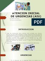 ATENCION INICIAL DE URGENCIAS (AIU)