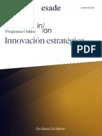 Esade - Folleto Open Programme Innovación Estratégica