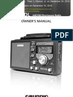 S350DL Short Grundig Manual From INTERNET