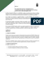 PLIEGO DE CONDICIONES TECNICO ADMINISTRATIVAS
