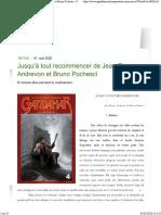 Jusqu'à Tout Recommencer de Jean-Pierre Andrevon Et Bruno Pochesci