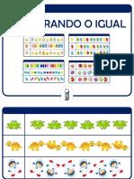 Jogo PROCURANDO O IGUAL (1)