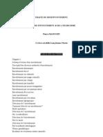 Pierre Manoury - Traité du Désenvoûtement Contre-Envoûtement et de l'Exorcisme