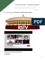 insightsonindia.com-RSTV Summary THE BIG PICTURE  VIOLENCE AGAINST WOMEN