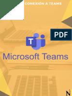 Manual de Conexión a Teams