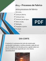 Modulo 4 TEC - Outros Processos de Fabrico