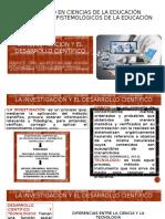 INVESTIGACIÓN Y DESARROLLO CIENTIFICO Y TECNOLOGICO