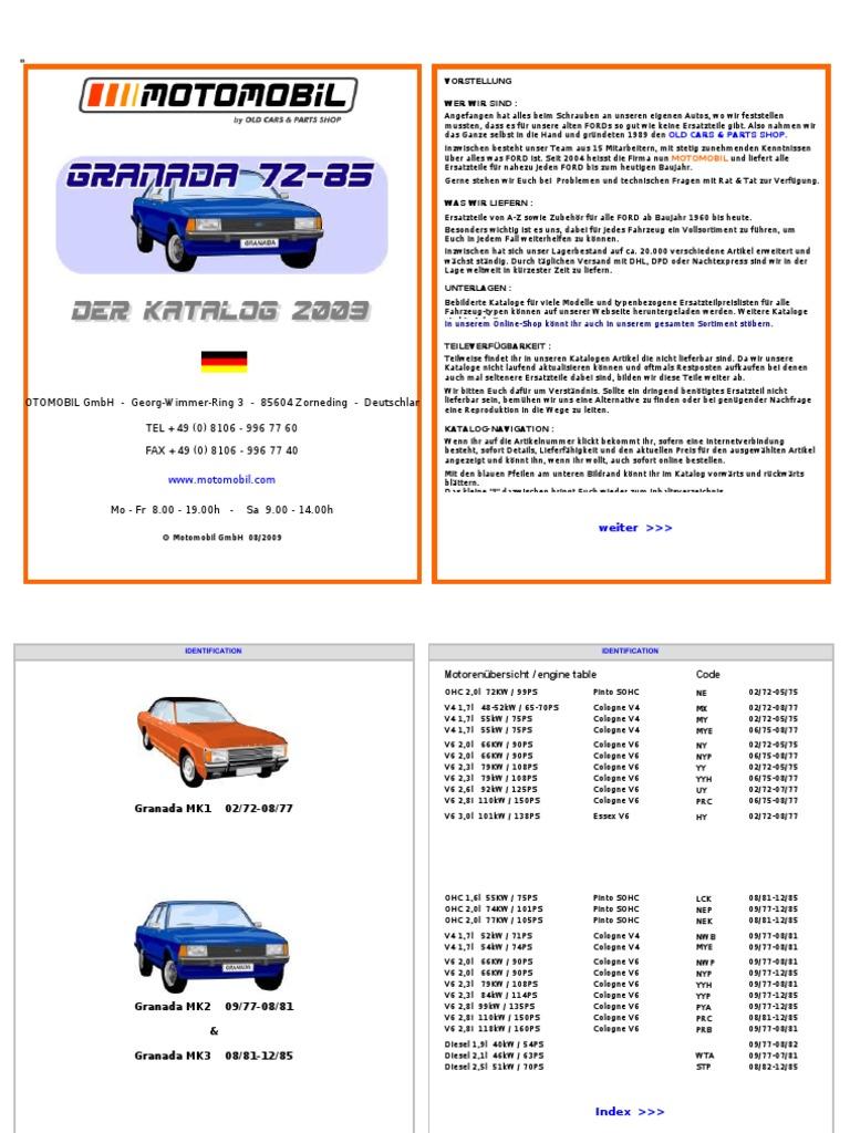 Sierra Typ 9 Getriebe Hauptwelle Hinteres Lager Ford Capri