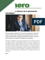 Errores de la Planeación Estrategica