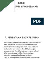 BAB III PENENTUAN BIAYA PESANAN [Autosaved].pptx
