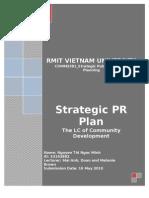 StrategicPRPlan_S3192882_NguyenThiNgocMinh