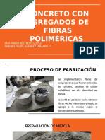 CONCRETO CON AGREGADOS DE FIBRAS POLIMÉRICAS
