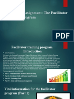 cur 532 - facilitator training program manual