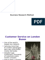 Business Research Method - Introduction