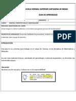 Guia Para Imprimir Ciclo 2 Momento 1 Semana Del 11 Al 15 de Mayo