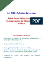 LEBOFA Exemplo de Norma Organizativa