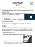 ACTIVIDADES PRIMER C. NATURALES