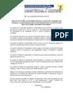 Protocolo Para Distribucion de Kits de Materiales Educativos i.e. 0398