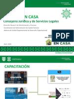 Kit QuedateEnCasa emitido por la CEJUR del Gobierno de la Ciudad de México.