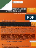GESTIÓN ESTRATEGICA EN EL SECTOR PÚBLICO