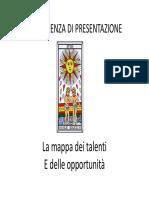 Mappa dei Talenti