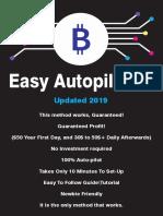 Bitcoin Minig Method