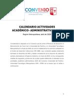 Copia de CALENDARIO ACTIVIDADES ACADÉMICAS