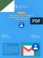 9. Listas de correos en Gmail