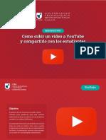 8. Compartir video en YouTube