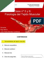 Clase Nº5 y 6 Fisiologia Del Tejido Muscular