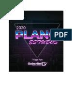 Plano de Estudos 2020 - Ryo