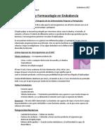 10.- Microbiología y Farmacología en Endodoncia