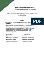 SOCIOLOGÍA DE LA EDUCACIÓN Y SUS APORTES