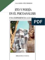 Mito y poesía en el psicoanálisis. Una experiencia a lo real.pdf