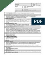 Formato Perfil de Cargo - SOLDADOR