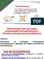 Act 5 . determinacao de propriedades e Primer principio da termodinamica 1,