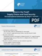 Where's Our Food Supply Chains and Food Insecurity DC Press Briefing May 2020