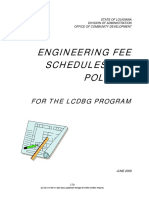 Engineering Fee Schedule_PF 2010 2011 Application Chapter 6
