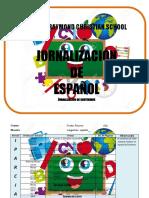 SRCS 1ro - Jornalización - Español.docx