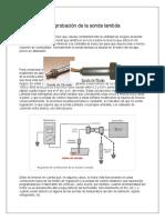 Comprobación de la sonda lambda jair