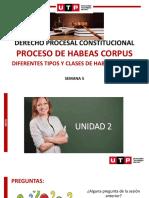 TIPOS Y CLASES DE HABEAS CORPUS
