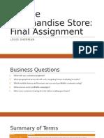 Final Assignment - Louis Sherman