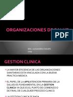 ORGANIZACIONES DE SALUD -20-9-19