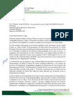 Carta de Referido - Representante Ramón Luis Cruz refiere a Agencias Investigadoras a Principal Ejecutiva de Innovación e Información del Gobierno